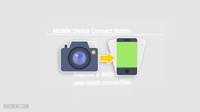 Cara Mengirim Foto dari Kamera Canon ke HP