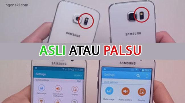 Cara Cek HP Samsung Asli atau Palsu