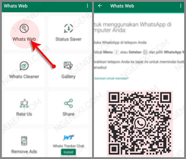Aplikasi Whats Web
