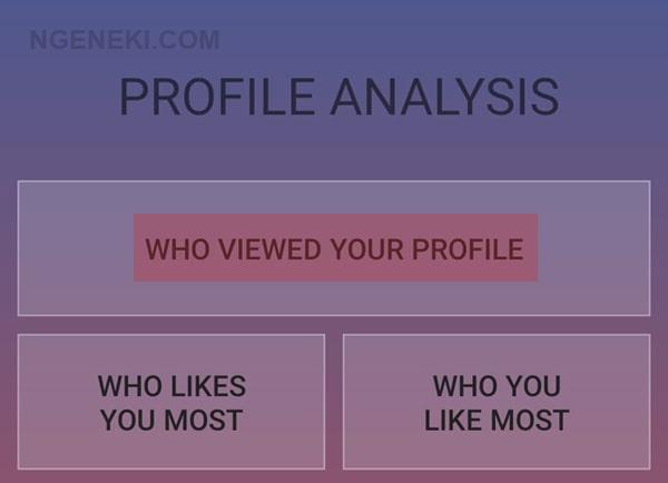 Cara Melihat Orang yang Sering Ngintip FB Kita