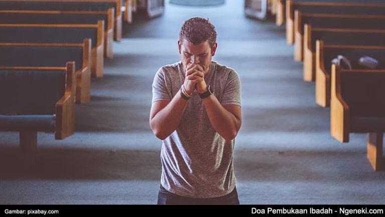 Contoh Doa Pembukaan Ibadah Kristen