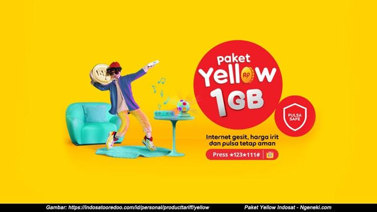 Cara Mengaktifkan dan Unreg Paket Yellow Indosat