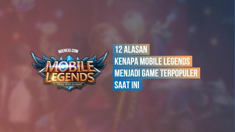 12 Alasan Kenapa Mobile Legends Menjadi Game Terpopuler