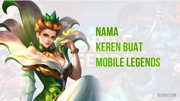 Nama Keren buat Mobile Legends
